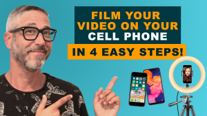 HOW TO FILM A VIDEO ON A SMART PHONE